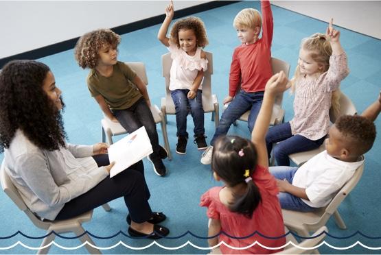 Kids on a Social Skills Group Class