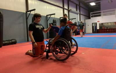 SOS helps kids participate in Martial Arts