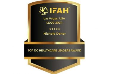 """Founder of Success On The Spectrum awarded the """"Top 100 Healthcare Leaders"""""""